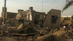 گزارش تصویری از خسارات و خرابیهای زلزله بوشهر