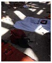 سه کارگر ساختمانی در حادثه ریزش ساختمان در شمال تهران کشته شدند