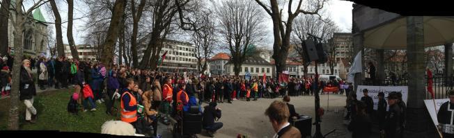 گرامیداشت روز جهانی کارگر، استاوانگر ـ نروژ، ۱ می ۲۰۱۳