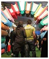 پلمب غرفه دو ناشر در نمایشگاه کتاب تهران
