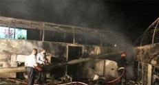تعداد قربانیان تصادف اتوبان تهرانـ قم به ۶۳ تن رسید