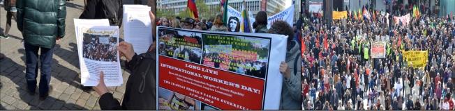 گزارشی از مراسم با شکوه روز جهانی کارگر در اسلو - نروژ!