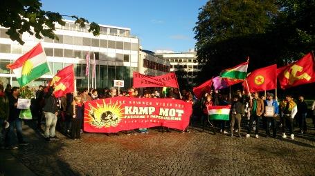 گزارشی از تظاهرات علیه دولت ترکیهدر استاوانگرـ نروژ